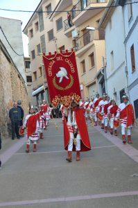 alabarderos en procesión