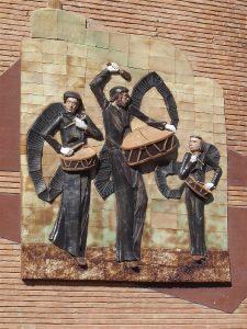 Monumento tambor Semana Santa